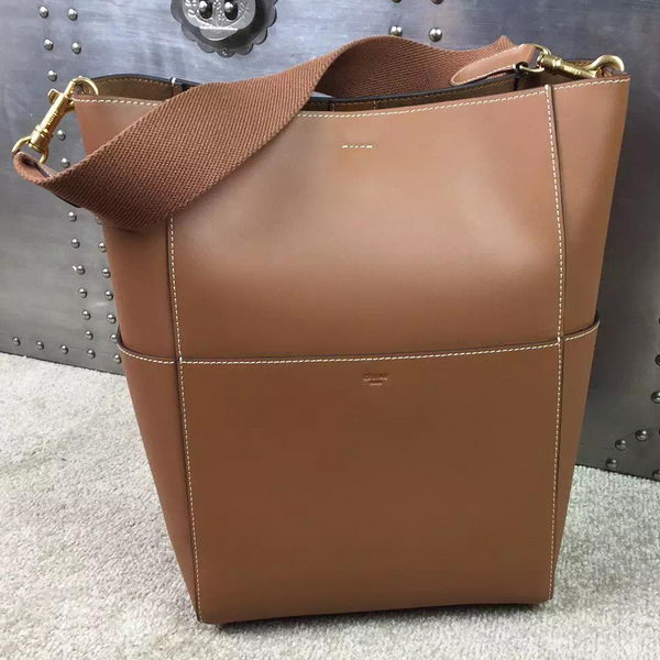 CELINE Sangle Seau Bag in Original Leather C16212 Wheat
