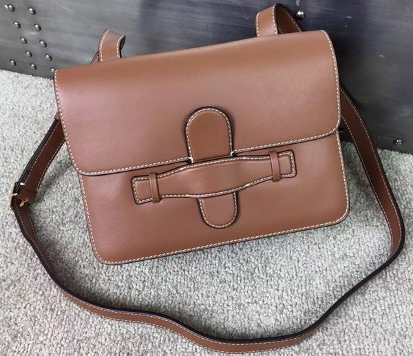 CELINE Symmetrical Bag in Original Leather C77423 Brown