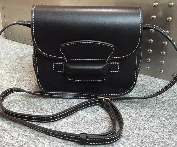 Celine TAB Trotteur Bag Calfskin Leather C77429 Black