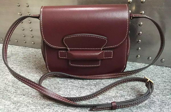 Celine TAB Trotteur Bag Calfskin Leather C77429 Burgundy