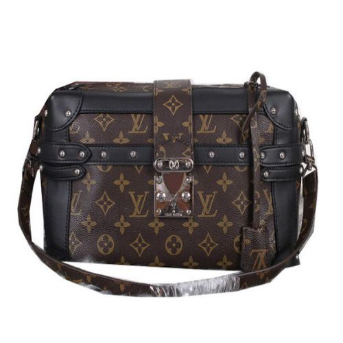 Louis Vuitton Monogram Canvas PETITE MALLE M41002 Nero