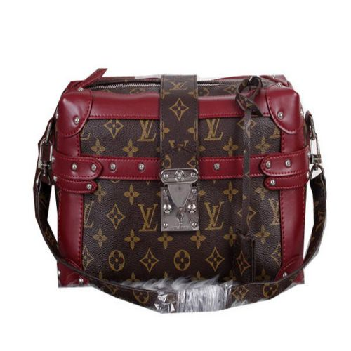 Louis Vuitton Monogram Canvas PETITE MALLE M41002 Borgogna