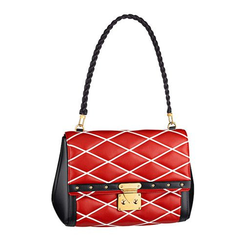 Louis Vuitton M50140 Malletage Pochette Flap Bag Red