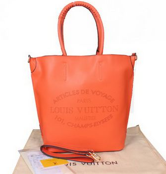 Louis Vuitton Borseatelle Parnassea Leather M94354 Arancione