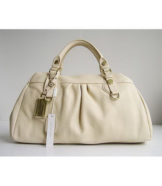Marc by Marc Jacobs Dr. Q Groovee Cream Pelle