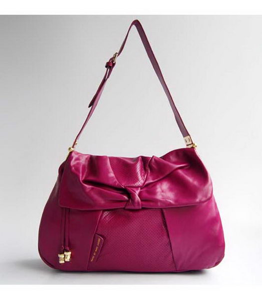 Marc by Marc Jacobs Leola spalla perforato Large Bag in rosso P