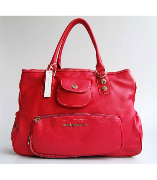 Marc by Marc Jacobs Overnight Bag oversize a Peach Red