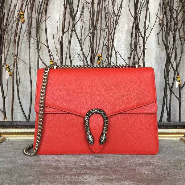 Gucci Dionysus Lichee Pattern Shoulder Bag 403348 Red