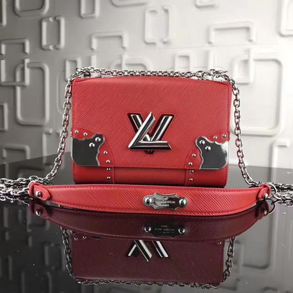 Louis Vuitton Epi Leather TWIST MM M42364 Red