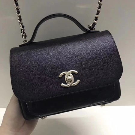 Chanel Classic Flap Bag Original Leather CHA3269 Black