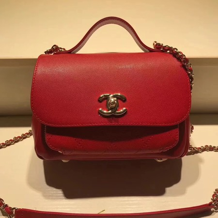 Chanel Classic Flap Bag Original Leather CHA3269 Red