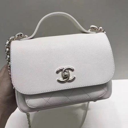 Chanel Classic Flap Bag Original Leather CHA3269 White
