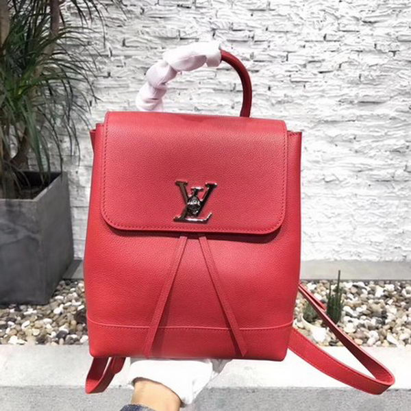 Louis Vuitton 2018 Spring-Summer LOCKME BACKPACK M41815 Red