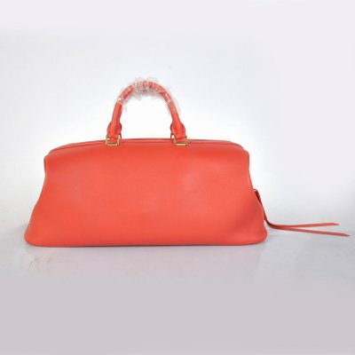 Celine Borsa Medico Cornice In Red