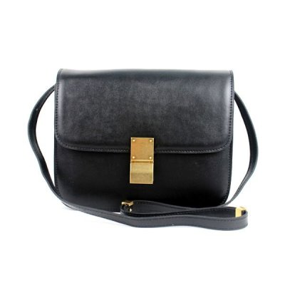 Celine Classic Box Chiusura Media Bag Black