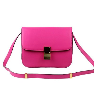 Chiusura Celine Classic Box Bag Medium Rose