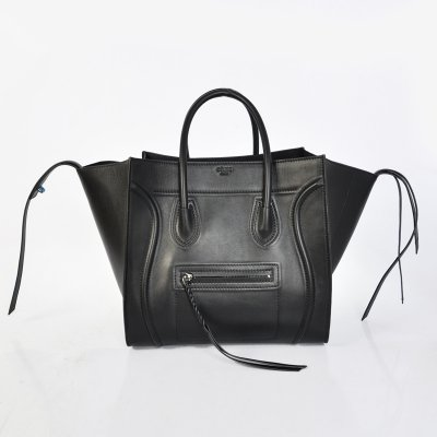 Celine Boston Nero bovina Borse