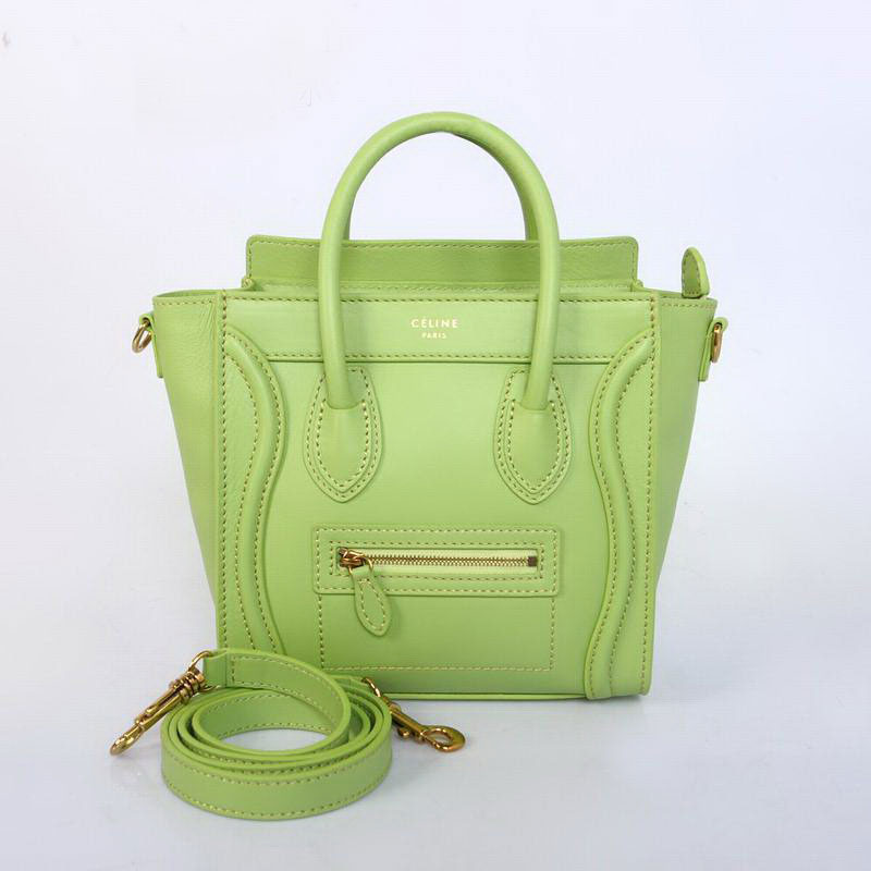 Celine Luggage Nano 10