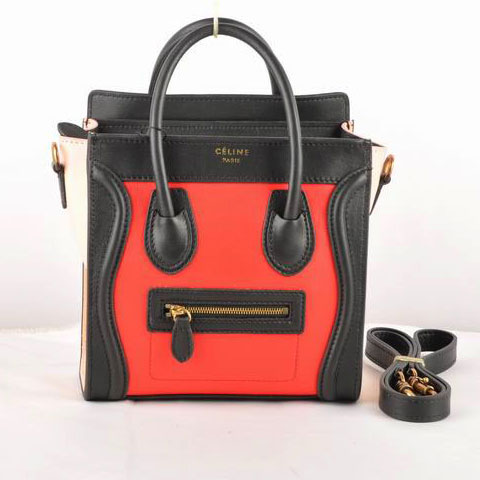 Celine Luggage Nano 13