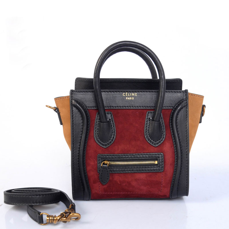 Celine Luggage Nano 19
