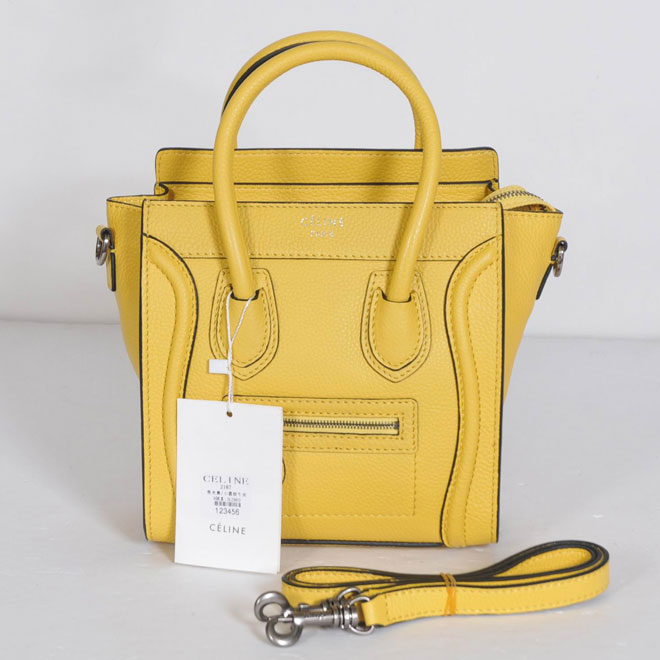 Celine Luggage Nano 31