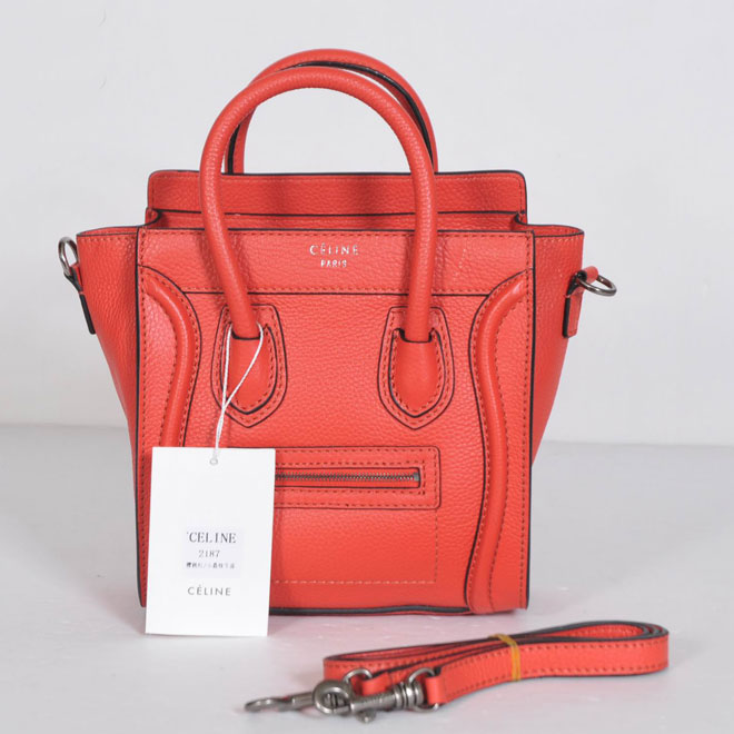 Celine Luggage Nano 32