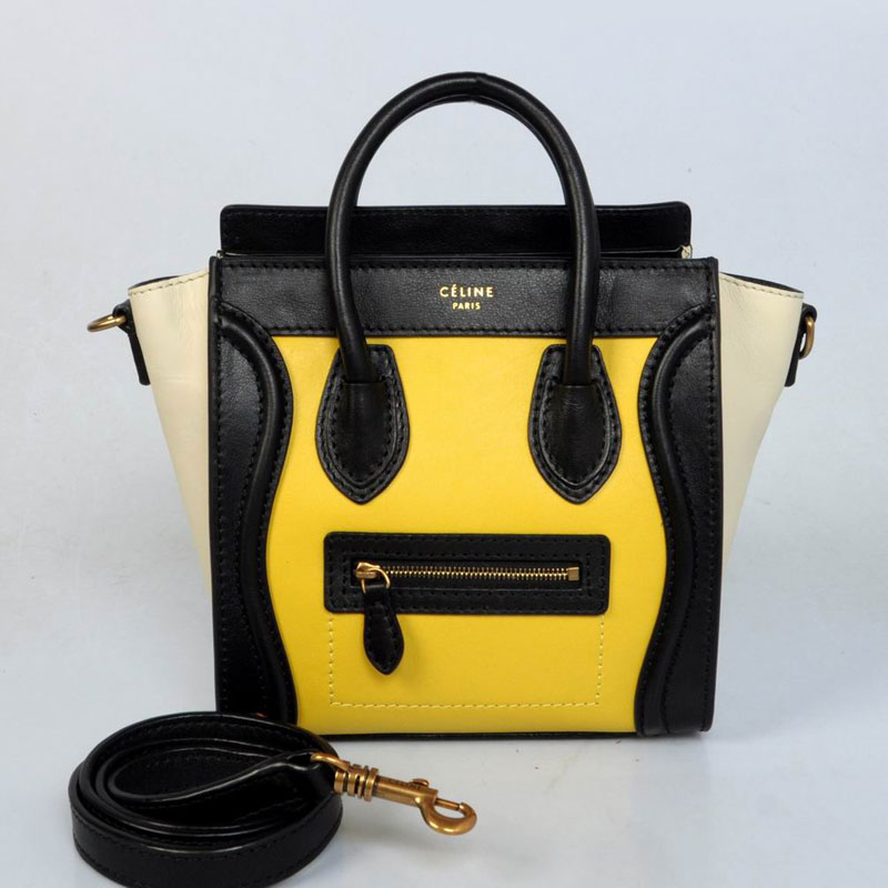 Celine Luggage Nano 06