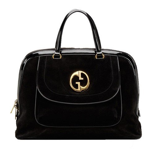 Gucci 1973 Large Top Handle Bag 251818 Nero