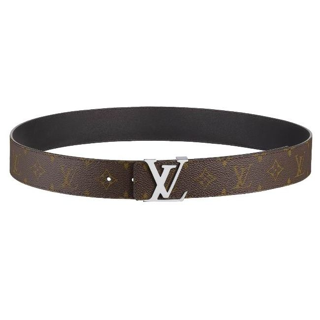 Cinture Louis Vuitton Initiales Reversible Monogram Uomo