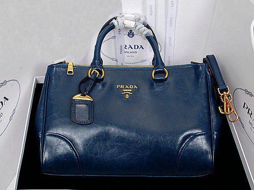 2013 Ultima Prada in pelle di vitello lucido Tote Bag BN6250 in